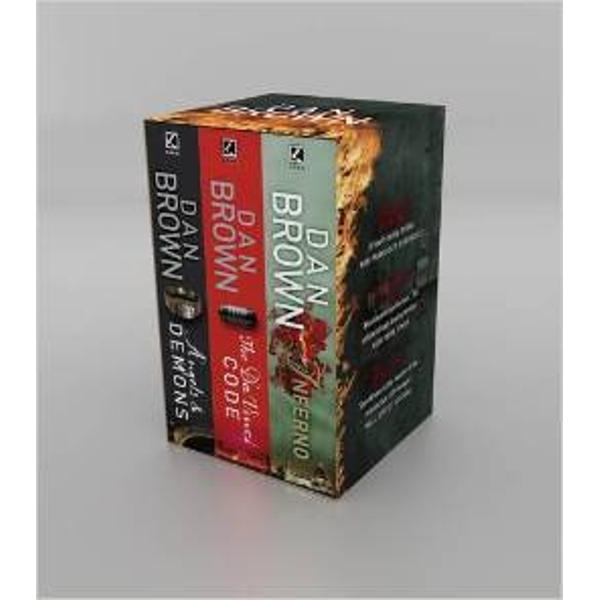 Dan Brown Box Set Inferno The Da Vinci Code and Angels and Demons