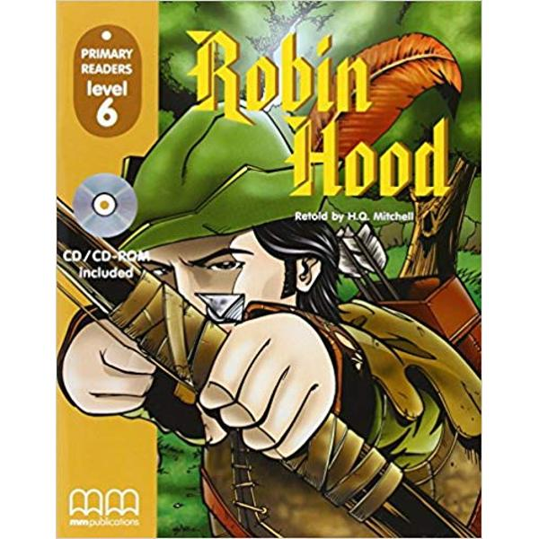 Robin Hood Student Book  CD