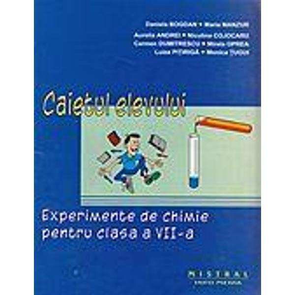 Experimente chimie clasa a VII-a