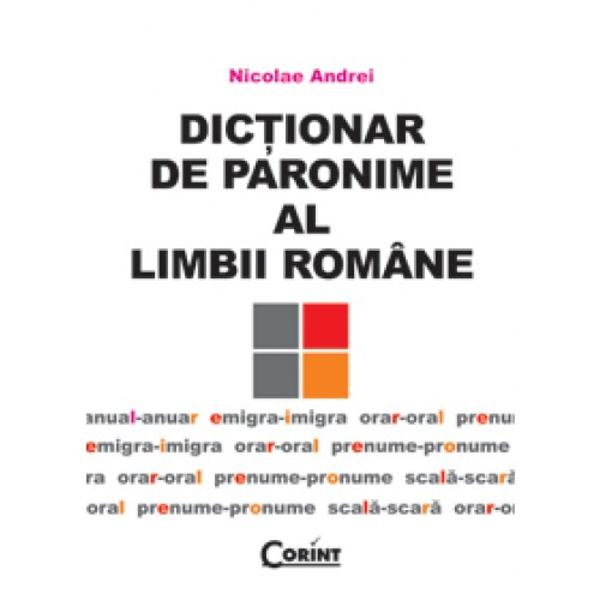 Lucrarea inregistreaza peste 7 500 de termeni paronimici proveniti din cele mai variate domenii ale cunoasterii umane