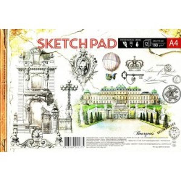 Album pentru desen tehnic cu coperta carton pe spate- Format A4- Nr de foi - 12 foi- Densitate 190gm2Ambalare 2 feluri de coperti