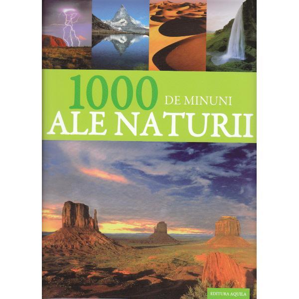 Marea Barier&259; de Corali Muntele Everest Amazonul Sahara cascada Victoria Marele Canion sau terenurile înghe&355;ate ale Antarcticii – peste tot pe planeta noastr&259; g&259;sim bog&259;&355;ii fantastice ale naturii care pe noi oamenii ne fac s&259; ne uimim &351;i s&259; ne entuziasm&259;m Aceast&259; carte prezint&259; cele mai cunoscute &351;i spectaculoase minuni ale naturii din întreaga lume – accentuând peisajele &351;i fenomenele