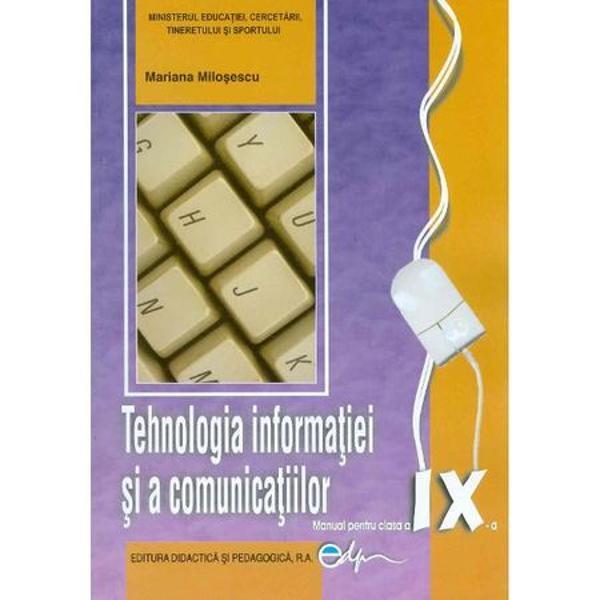 Manual de informatica clasa a IX a real editia 2017 Milosescu