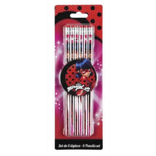 Set 6 creioane LADYBUG MARINETTEUn set unic si fantastic pentru orice fata Eleganta si stil energic doar pentru tineDimensiuni set 81x249 cm