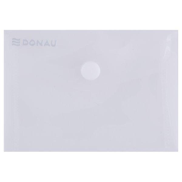 Mapa A7 cu butoncapsa din plastic transparent cristalPlastic de 180 microniFormat 8x115x015 cmAmbalare 10 bucset