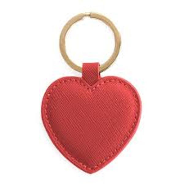 Breloc confectiont din pieleForma Inima RosieCod articol A240043Marca Artebene