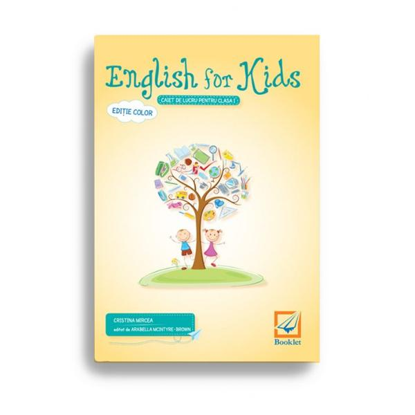 English for kids clasa I editia 2017