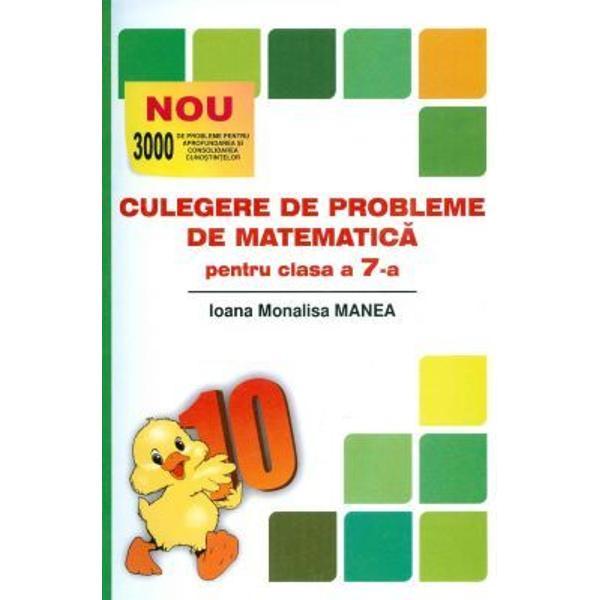 ulegere de probleme de matematica pentru clasa a VII a Puisor editia 2017