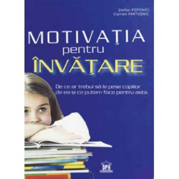 Volumul de fata&131; este util tuturor celor interesati sa&131; organizeze un proces de inva&131;tare sistematica&131; in scoala&131; inclusiv sa&131;-si dezvolte capacitatea de a utiliza strategii de motivatie si dezvoltare personala&131;