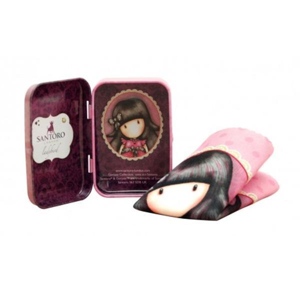 Batista din microfibra in cutie metalica Ladybird este ideala pentru curatarea telefoanelor mobile tabletelor camerelor digitale si altor electroniceDimensiune cutie metal  8 x 5 x 2 cmDimensiune laveta  17 x 17 cm