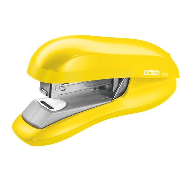 Capsator ergonomic halfstrip cu mecanism din otel dur pentru o capsare precisa Echipat cu tehnologia de capsare plata ce reduce volumul documentelor capsate cu pana la 30 Potrivit pentru casa sau birouDimensiuni mm 460 x 790 x 1480