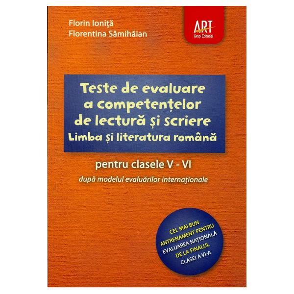 Teste de avaluare a competentelor de lectura si scriere claselre V-VI Pisa
