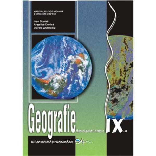 Manual de geografie clasa a IX a editia 2017