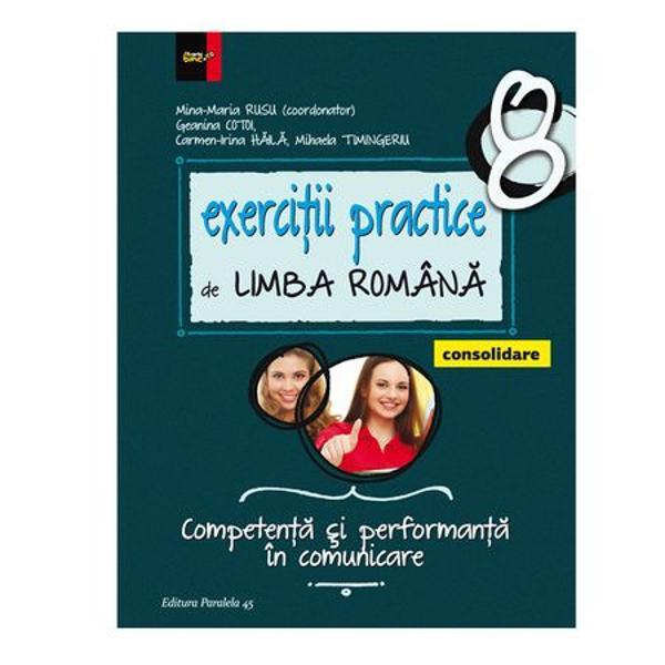 In contextul aplicarii noilor programe de limba si literatura romana centrate pe formarea la elevi a competentelor specifice – competente derivate din cele generale si circumscrise celor opt competente-cheie prevazute de Cadrul Comun European de Referinta pentru Limbi - o lucrare de tipul celei de fata are rolul de a-l orienta atat pe profesor cat si pe elevul din clasele V-VIII in activitatea de predare-invatare-evaluareEa pleaca de la premisa ca limba si literatura