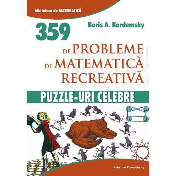Bestseller in Statele Unite si cea mai buna si mai populara carte de puzzle-uri matematice publicata vreodata in Rusia de ieri si de aziS-au vandut aproape un milion de exemplare numai in versiunea originalaDe-a lungul anilor a fost tradusa in numeroase limbiAutorul Boris A Kordemski 1907-&128;&147;1999 a fost un profesor talentat de liceu la Moscova Prima sa carte de matematica recreationala Patratul magic o analiza incantatoare a proprietatilor curioase ale unui