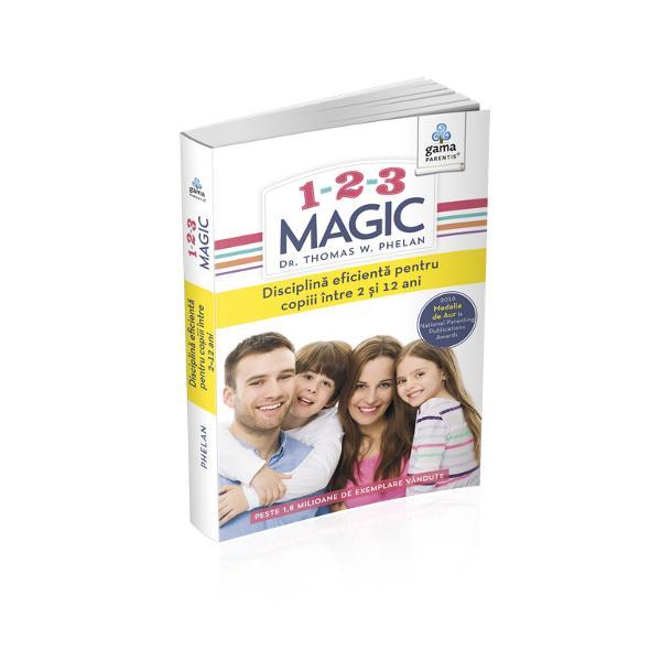 Cartea prezint&259; o metod&259; inedit&259; simpl&259; &537;i incredibil de eficient&259; pentru disciplinarea copiilor bazat&259; pe blânde&539;e dar &537;i fermitate De ani de zile milioane de p&259;rin&539;i din întreaga lume folosesc mult-premiatul program 1-2-3 Magic pentru a readuce fericirea &537;i lini&537;tea în familiile lor &537;i pentru a-&537;i rec&259;p&259;ta bucuria de a fi p&259;rinteVolum vândut în aproape