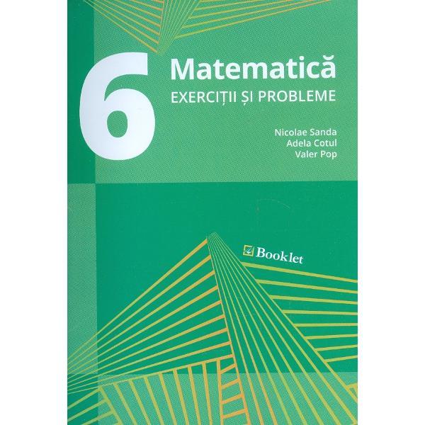Culegere de matematica clasa a VI a editia 2017