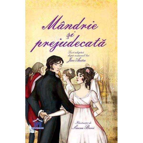 adaptare dup&259; Jane Austen Urm&259;ri&539;i bucuriile &537;i dezam&259;girile familiei Bennet într-o poveste clasic&259; cu personaje de neuitat Oare simpatica domni&537;oar&259; Elizabeth Bennet î&537;i va afla perechea în atât de distantul domn Darcy Nivel - Experimenta&539;i Aceast&259; colec&539;ie transform&259; pove&537;ti cunoscute în c&259;r&539;i al c&259;ror text este
