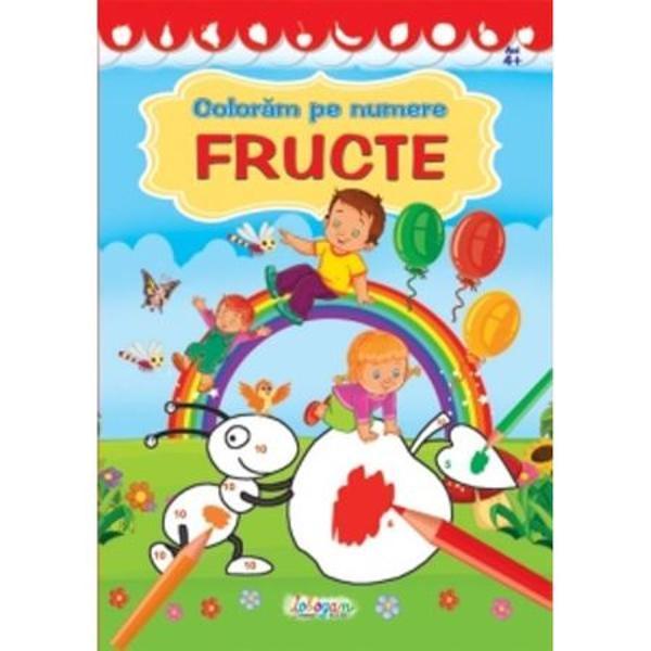 Fructe Coloram pe numere