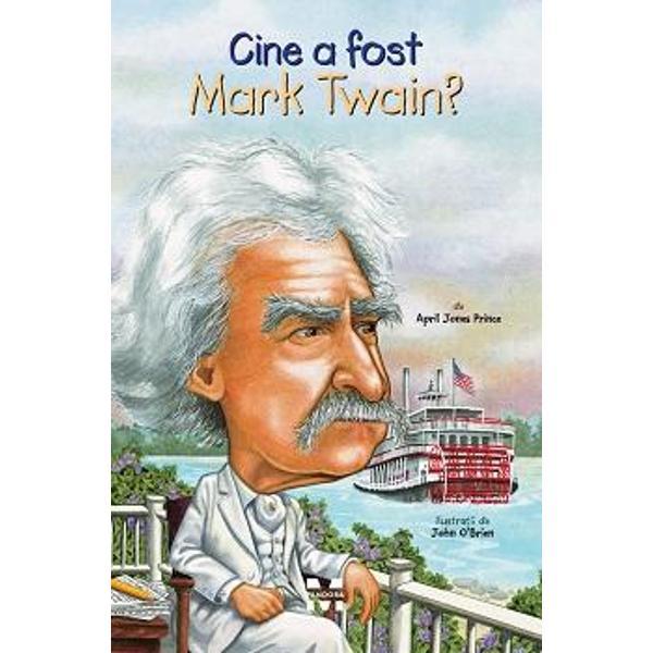 Un &537;trengar aventuros pe nume Samuel ClemensPilot de vas cu aburi pe Fluviul Mississippi c&259;ut&259;tor de aur ziarist &537;i c&259;l&259;torCel mai iubit scriitor al AmericiiToate cele de mai susAfl&259; mai multe despre adev&259;ratul Mark Twain din aceast&259; biografie amuzant&259; &537;i minunat ilustrat&259;