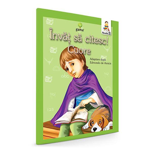 Cuore Inima de copil Invat sa citesc nivelul III