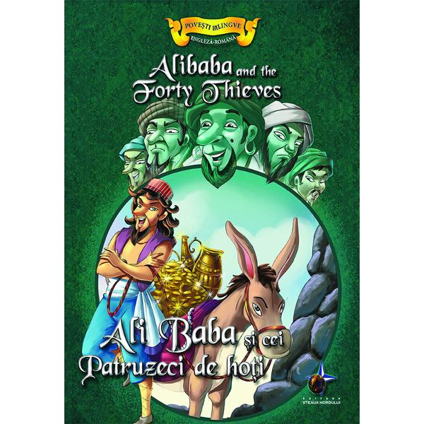 Ali Baba si cei patruzeci de hoti Povesti bilingve engleza-romana