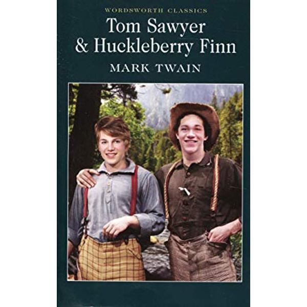Tom Sawyer and Huckleberry Finn