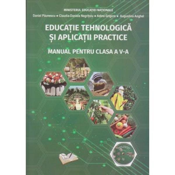 Educatie tehnologica si aplicatii practice Manual pentru clasa a V a