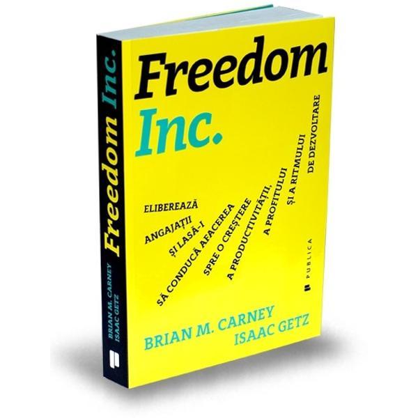 Eliberarea companiilornu este o strategie Este o filosofie de afaceri pe care nenum&259;ra&539;i lideri din întreaga lume o folosesc pentru a-&537;i transforma organiza&539;iile în mod radicalLiderii eliberatori cred c&259; un loc de munc&259; bazat pe respect &537;i libertate este un mediu de lucru mai natural decât unul bazat pe neîncredere &537;i control a&537;a c&259; au încercat s&259;-&537;i organizeze