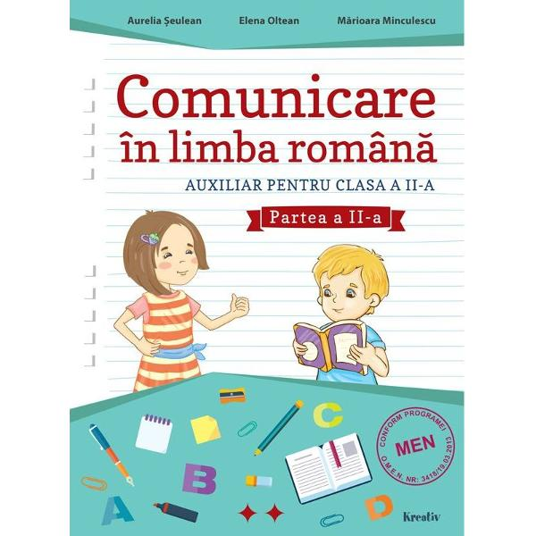 Comunicare in limba romana clasa a II a partea a II a