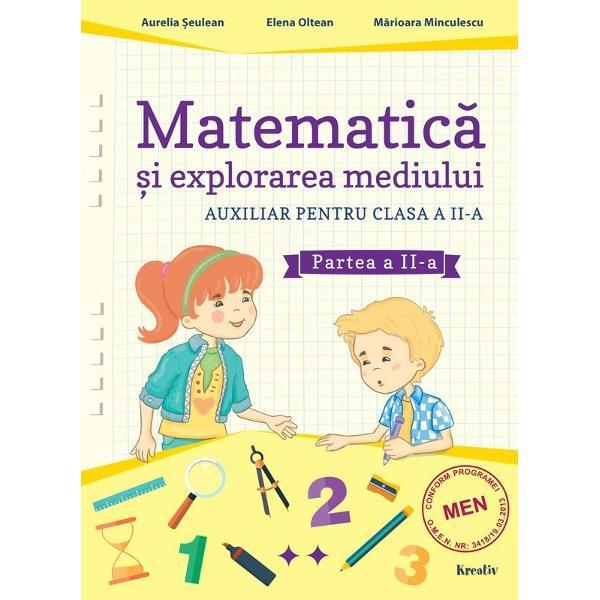 Matematica si explorarea mediului clasa a II a partea a II a
