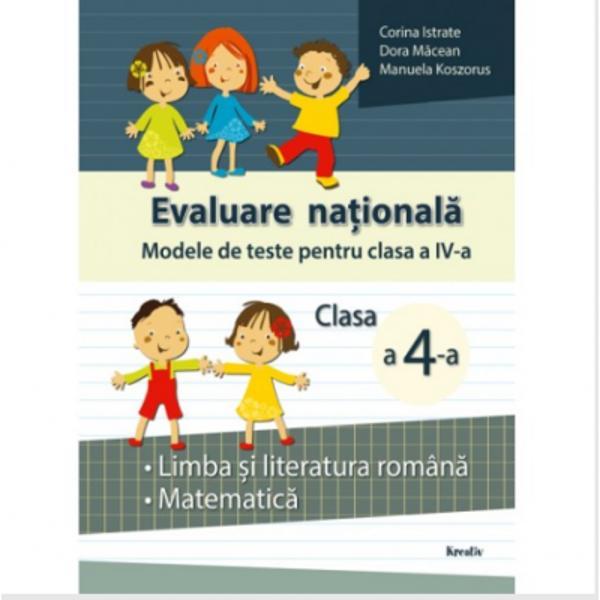 Evaluare nationala clasa a IV a Modele de teste
