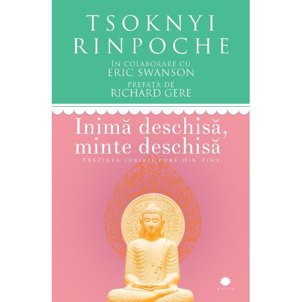 Inim&259; deschis&259; minte deschis&259; prezint&259; simplu &537;i concis &238;nv&259;&539;&259;turile marelui budist tibetan Tsoknyi Rinpoche &537;i ofer&259; &238;n acela&537;i timp r&259;spunsuri la &238;ntreb&259;rile noastre despre iluminarea spiritual&259; A te elibera de suferin&539;&259; este condi&539;ia esen&539;ial&259; atunci c&226;nd vrei s&259; faci loc fericirii &537;i iubirii pure iar arta tibetan&259; antreneaz&259; mintea &537;i permite