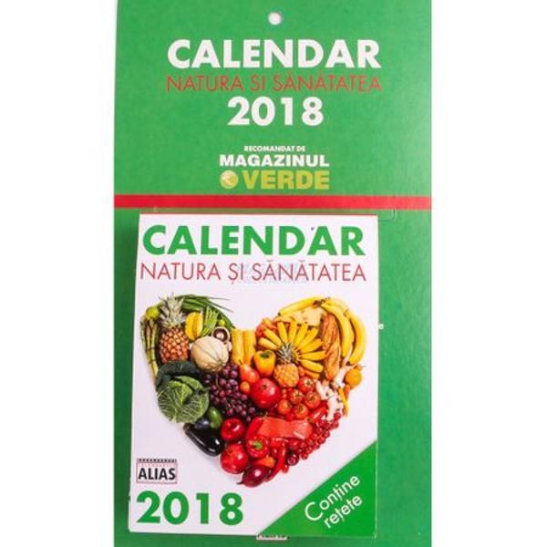 Calendar natura si sanatatea 365 de file 2018