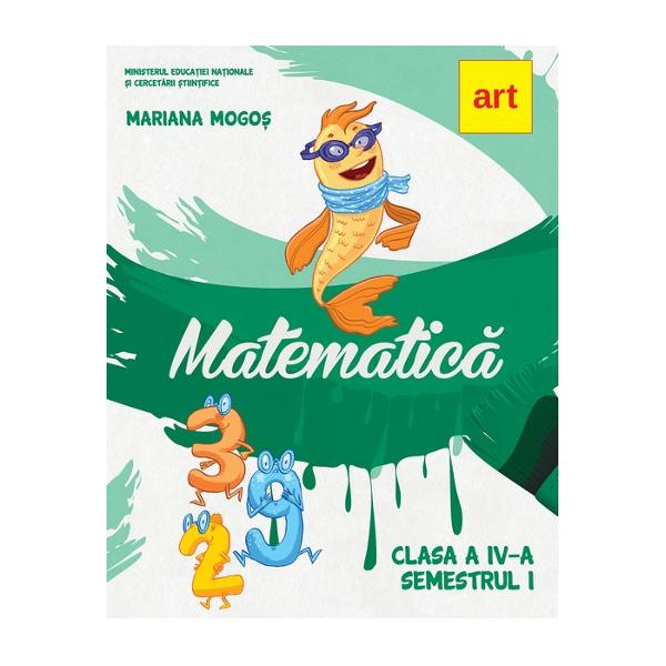 Manual de matematica clasa a IV a semestrul I CD