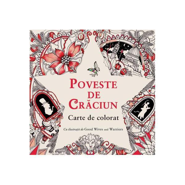 Clasica Poveste de Cr&259;ciun a lui Charles Dickens prinde via&539;&259; în aceast&259; carte de colorat splendid ilustrat&259; cu care se poate delecta oricine indiferent de vârst&259;