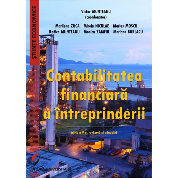 Contabilitatea financiara a intreprinderii editia a V a