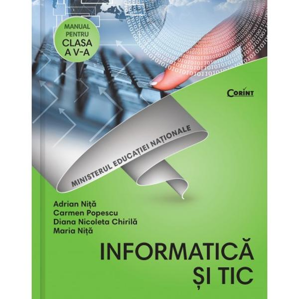 Manual de informatica si tic clasa a V a  CD