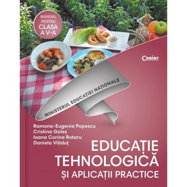 Manual educatie tehnologica si aplicatii practice clasa a V a  CD