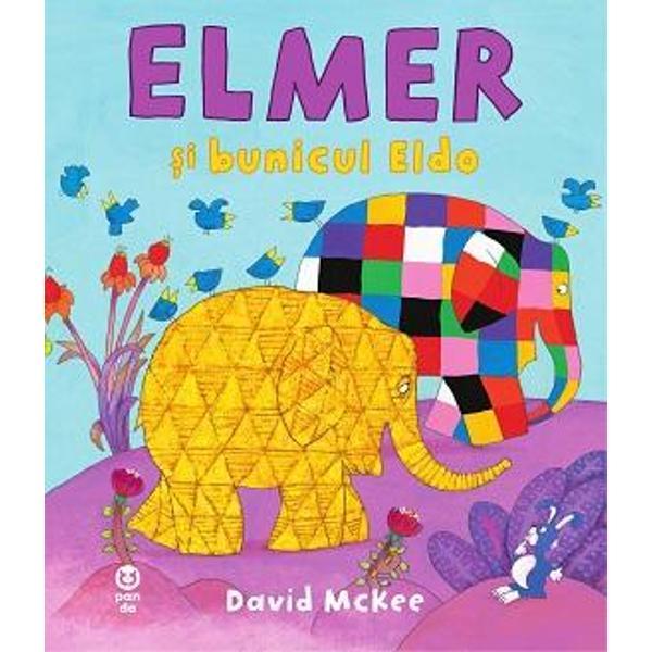 Elefantul multicolor a mai crescut iar povestea despre vizita la bunicul Eldo al&259;turi de care rememoreaz&259; clipe frumoase pe care le-au tr&259;it împreun&259; când era mic ne vorbe&537;te cu sensibilitate despre memorie &537;i importan&355;a rela&355;iilor de familie –Financial TimesLa Pandora M au mai ap&259;rutElefantul ElmerZiua special&259; a lui ElmerElmer &537;i