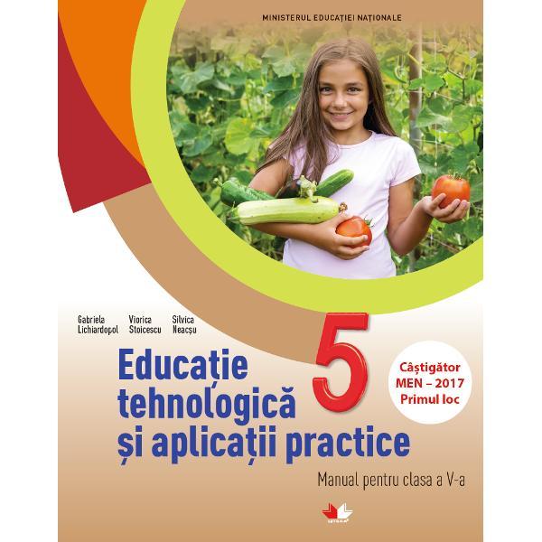 Manual educatie tehnologica si aplicatii practice clasa a V-a  CD