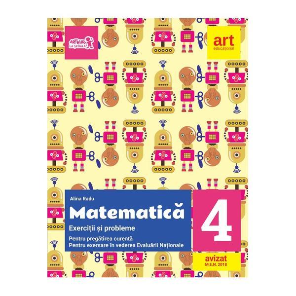 Matematica Exercitii si probleme pentru evaluare clasa a IV a  portofoliu