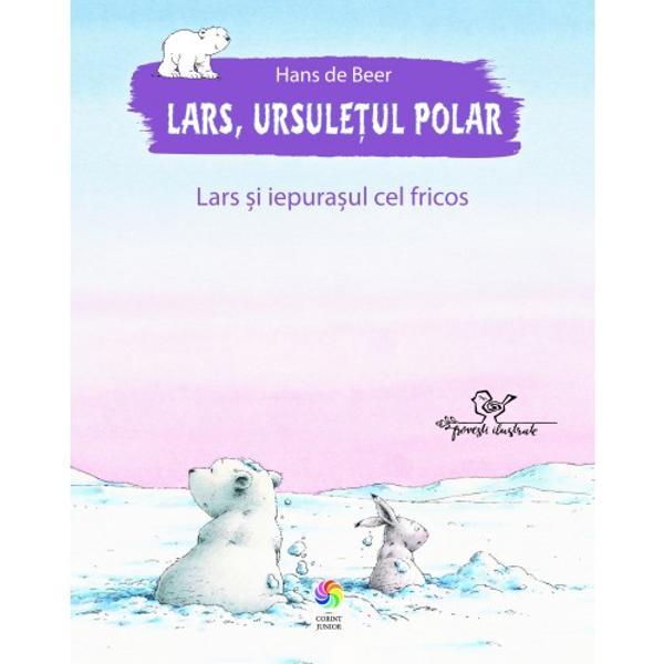 Într-o zi Lars micul urs polar aude un scâncet slab Curios descoper&259; îngropat în z&259;pad&259; un iepura&537; pe nume Hugo Lars îl ajut&259; s&259; ias&259; din groap&259; iar cei doi se joac&259; împreun&259; distrându-se copios Ursule&539;ul observ&259; îns&259; c&259; Hugo e un iepura&537; cam fricos Lars mai curajos îndr&259;zne&537;te s&259; se apropie periculos de mult de