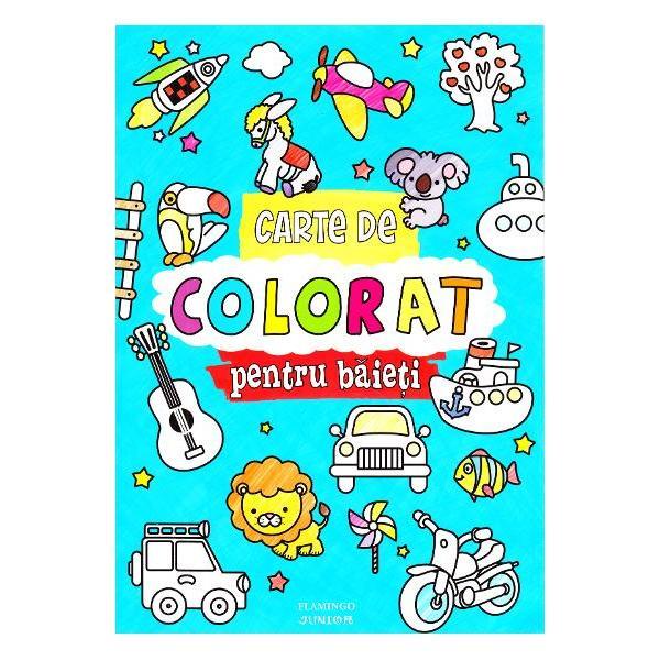 Cartea de colorat pentru fete ajuta la • dezvoltarea abilitatii manuale • stimuleaza imaginatia • imbogateste vocabularul identificarea obiectelor si invatarea culorilor • dezvolta concentrarea  Cartea contine 96 de pagini cu imagini simple de mari dimensiuni cu contur gros destinate micutilor incepatori intr-ale coloratului Pot colora cu creioane sau chiar cu pensula paginile fiind