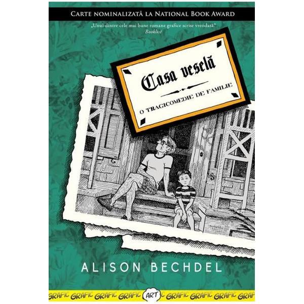 """Autobiografia lui Alison Bechdel structurat&259; sub forma unui roman grafic pune accentul pe rela&355;ia tensionat&259; cu tat&259;l ei un fost profesor de literatur&259; englez&259; &351;i apoi proprietar al unei firme de pompe funebre poreclit&259; de c&259;tre familie """"Casa vesel&259;"""" Sever &351;i distant tat&259;l este o prezen&355;&259; destul de rece în via&355;a lui fetei singura apropiere dintre ei fiind posibil&259; doar prin pasiunea pentru"""