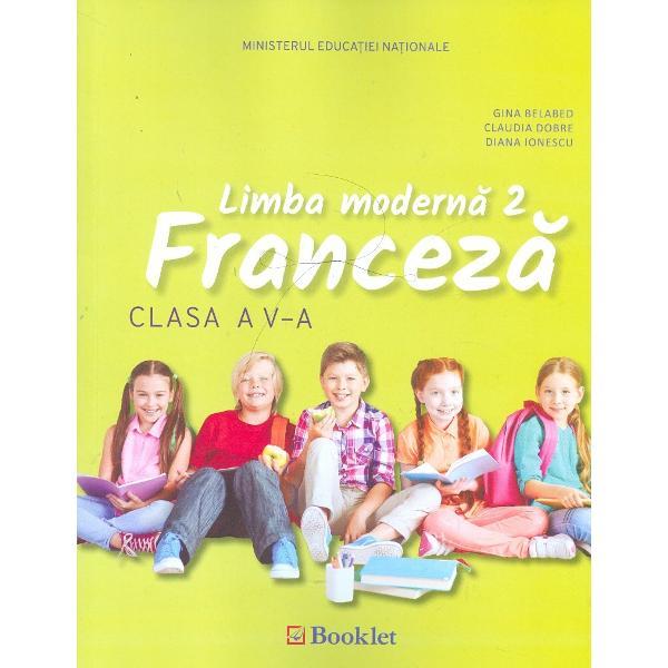 Manual de limba franceza clasa a V a  CD
