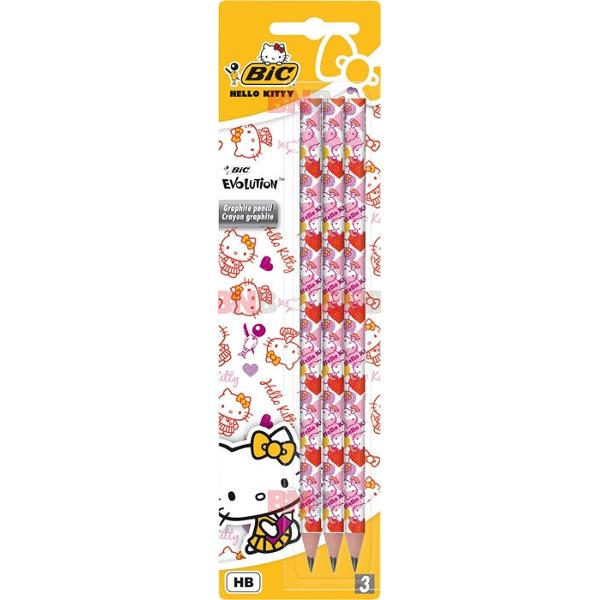 Creion grafit Evolution Hello Kitty Bic