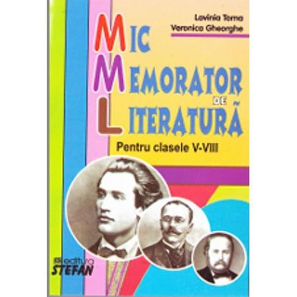 Mic memorator de literatura cls V-VIII