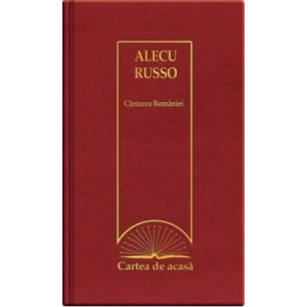 Alecu Russo1819 – 1859 prozator A devenit popular in epoca datorita participarii la evenimentele politice si culturale din tarile romane din preajma si din timpul revolutiei de la 1848 precum si poemuluiCantarea RomanieiColectiaCartea de acasareuneste in volume legate cu maiestrie scrieri remarcabile integrale insotite de Glosare ce readuc in atentia cititorului cuvinte pierdute de vremeDocumentarea a fost facuta