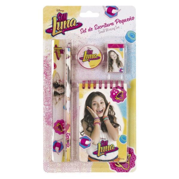 Set de scris mic Soy LunaSet de scris mic Soy Luna&160;va fi perfect ca si cadou pentru orice fetitaDimensiuni 145x245 cm